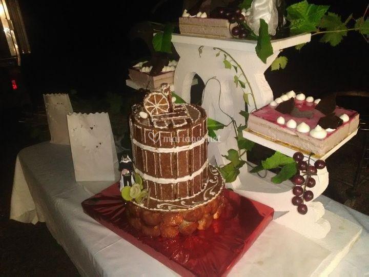 Dessert des mariés personnalisé
