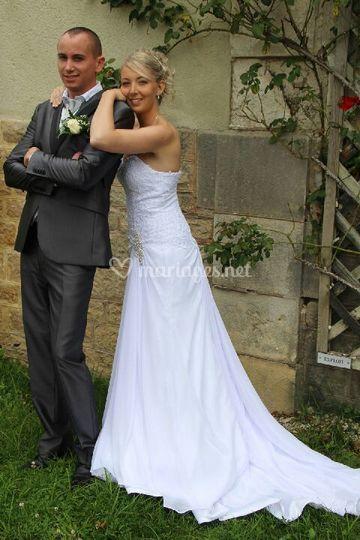 Robe de mariee sur mesure 77