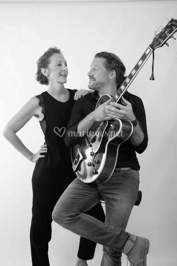 Edith calas et Mickael Sourd