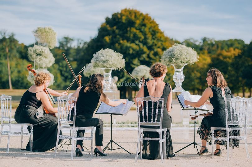 Au château de Fontainebleau