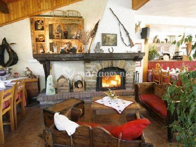 Salon de cheminée