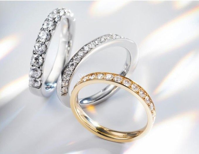 Alliances diamants