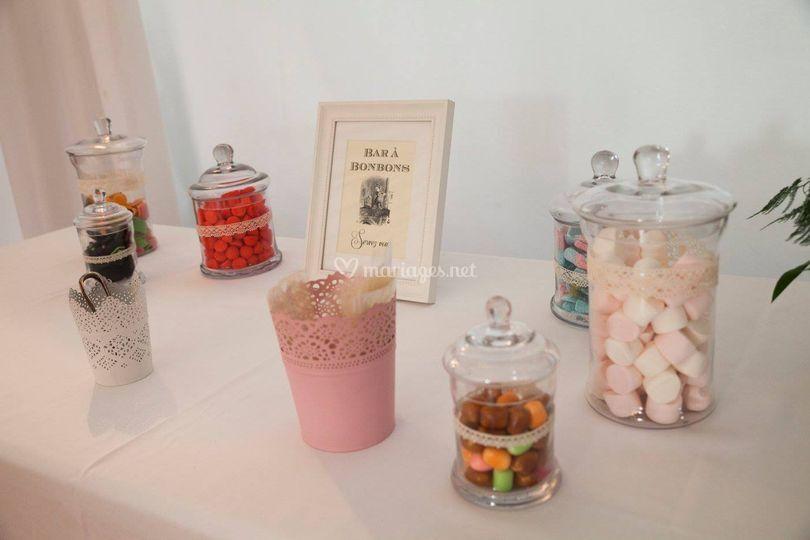 Candy bar : petits et grands