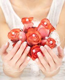 La french manucure pour votre mariage