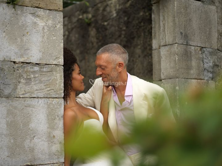 Tina et Vincent Cassel Bidart