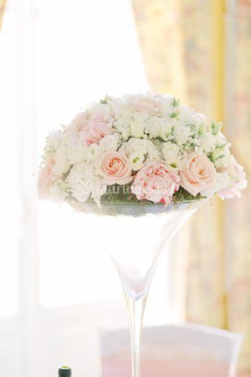 Table d'invité Déco florale