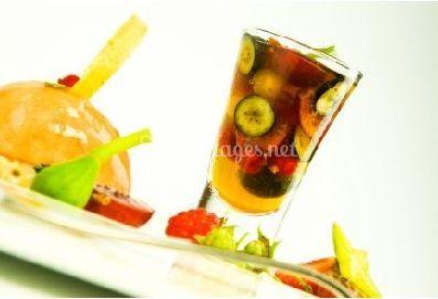 Coupe de salade de fruits