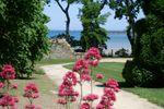 Jardins sur Ch�teau de Beaussais