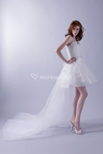 Robe Fée Hervé Mariage