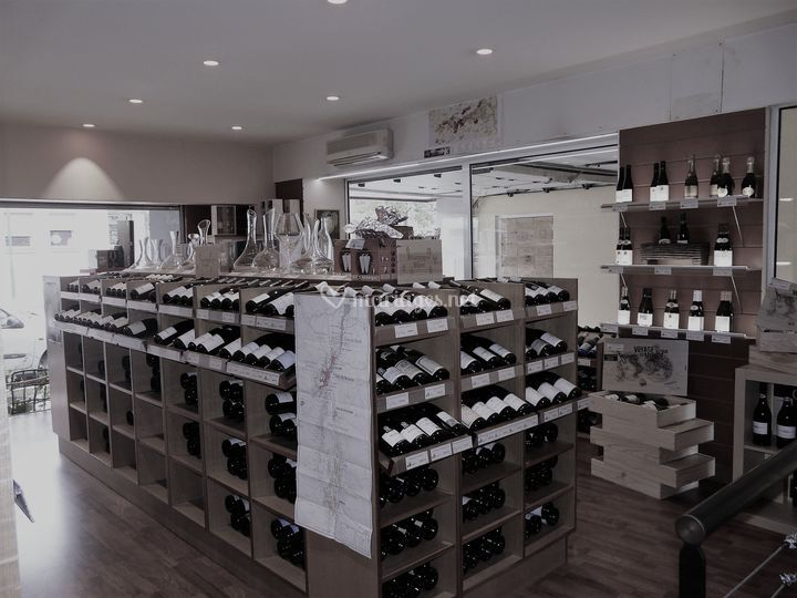Un grand choix de vins