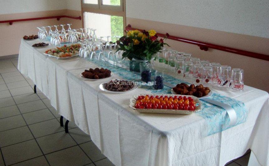 Aperitif, buffet