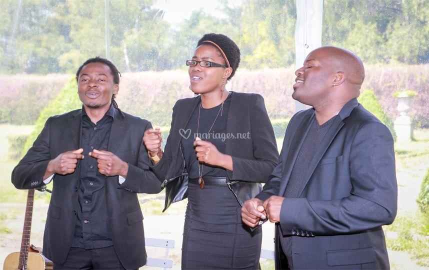 Cérémonie Chant Gospel