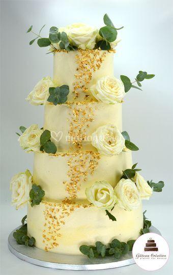 Wedding cake Anna