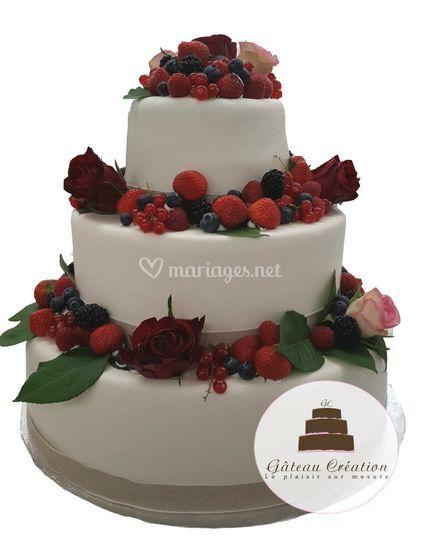 Wedding cake et pièces montées