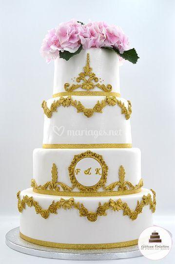 Wedding cake Amélia