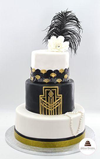 Wedding cake Gatsby