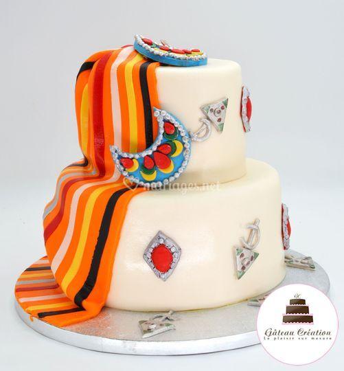 Wedding cake Kabyle