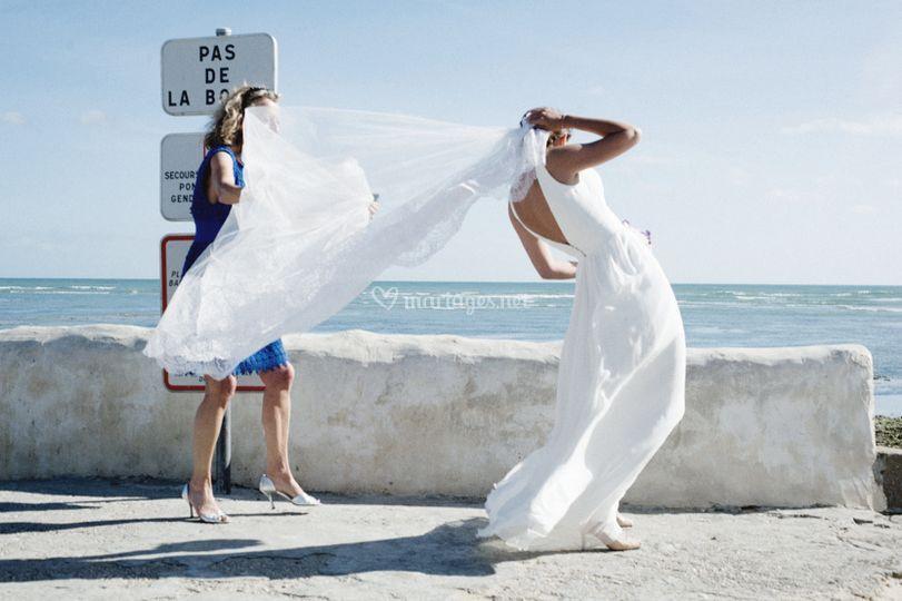 Mariage sur l'île de Ré