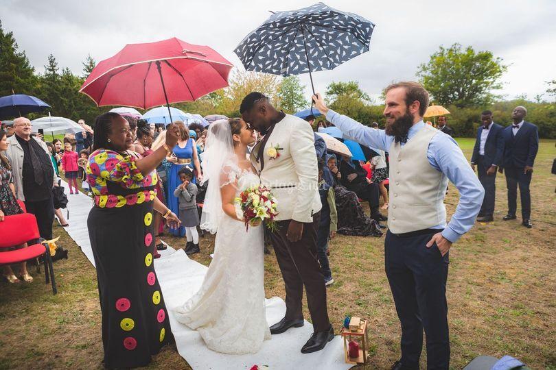 Le mariage est une fête