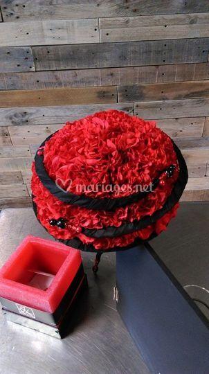 Bouquet de mariée sevillane