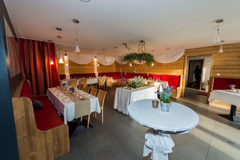 Salle de mariage hôtel SPA