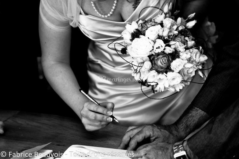 La signature et le bouquet