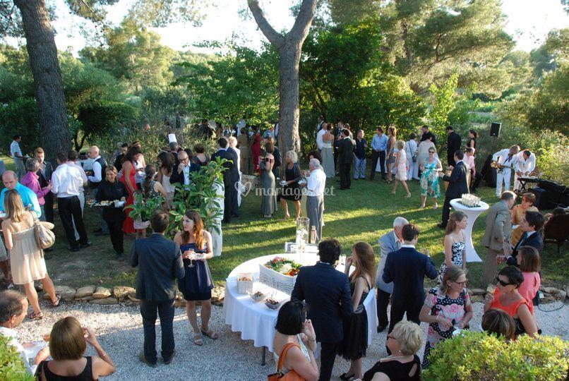 Domaine cethi - Restaurant le grand jardin baume les messieurs ...