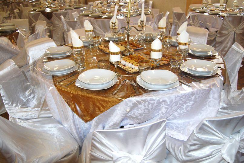 Matériel de salle de mariage