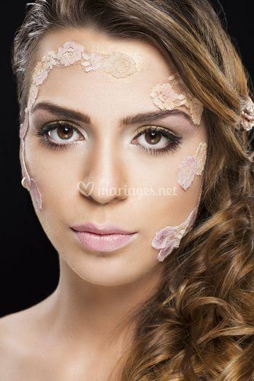 Maquillage beauté et coiffure