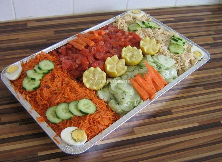 Large choix de salades