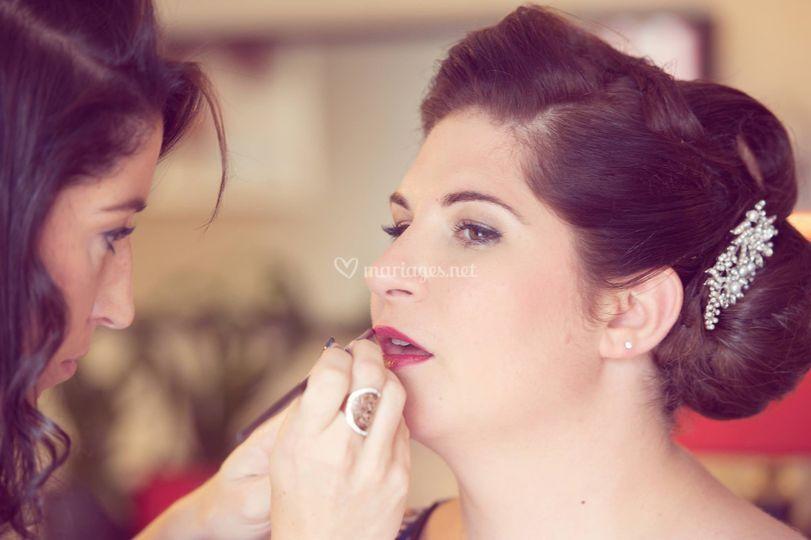 Maquillage à domicile
