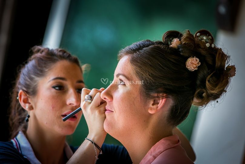 Maquillage déplacement