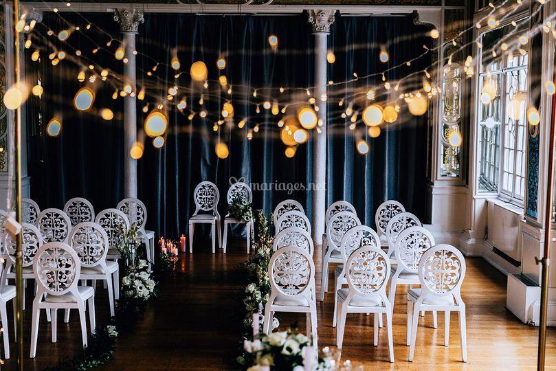 Mariage parisien - cérémonie