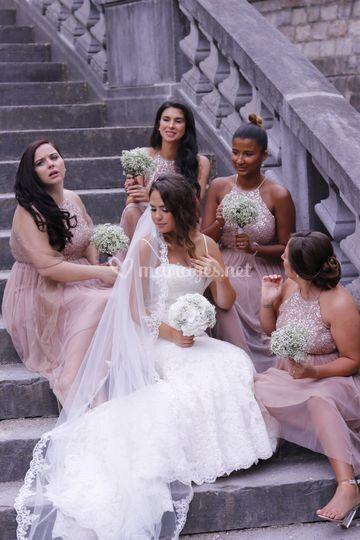 Mariée et Demoiselles