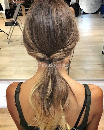 Lucie Barbas Hair