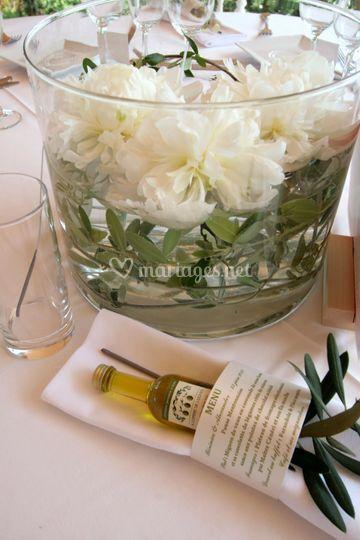 Mignonnette d'huile d'olive