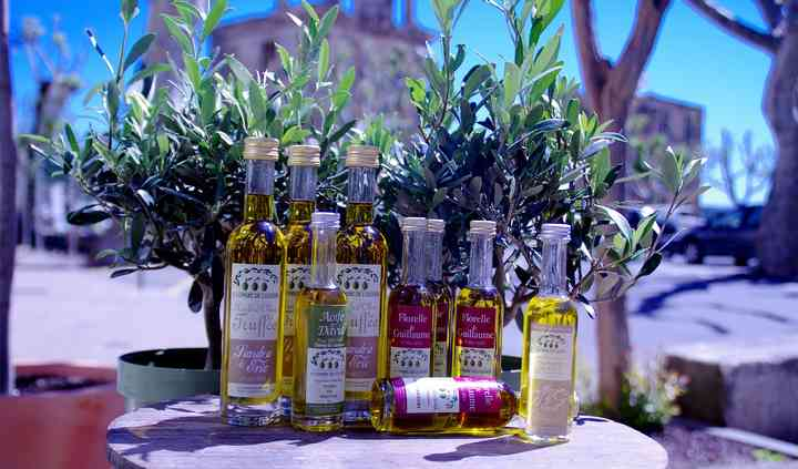 Mignonnettes d'huile d'olive