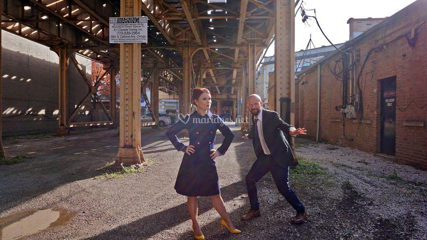 Mr & Mrs MARVEL à Chicago