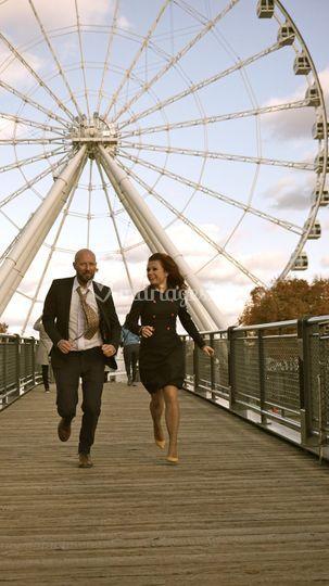 Mr & Mrs MARVEL à Montréal