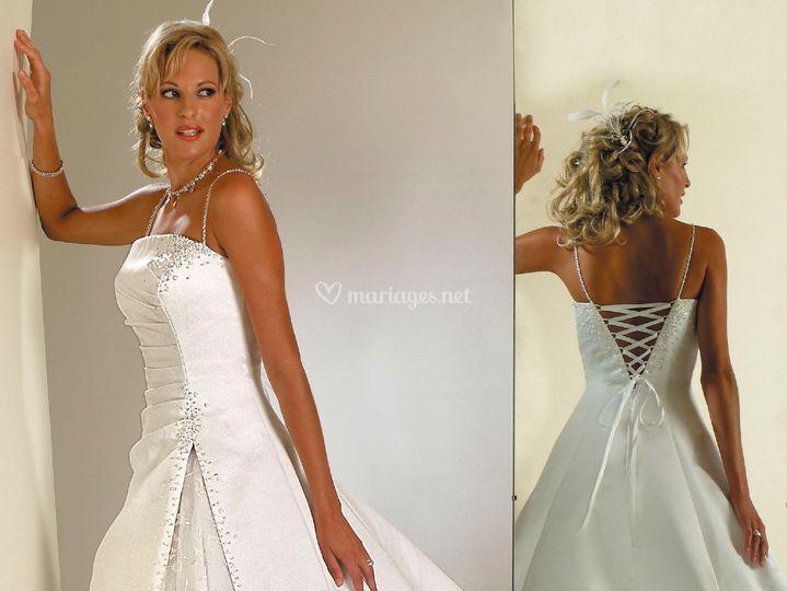 La robe de la marié