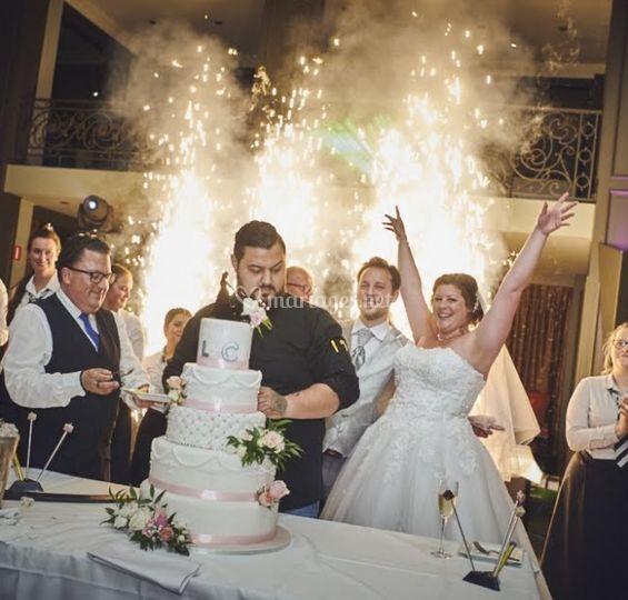 Photo gâteau de mariage