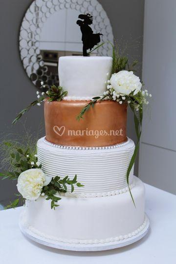 Sobre & Chic Wedding cake