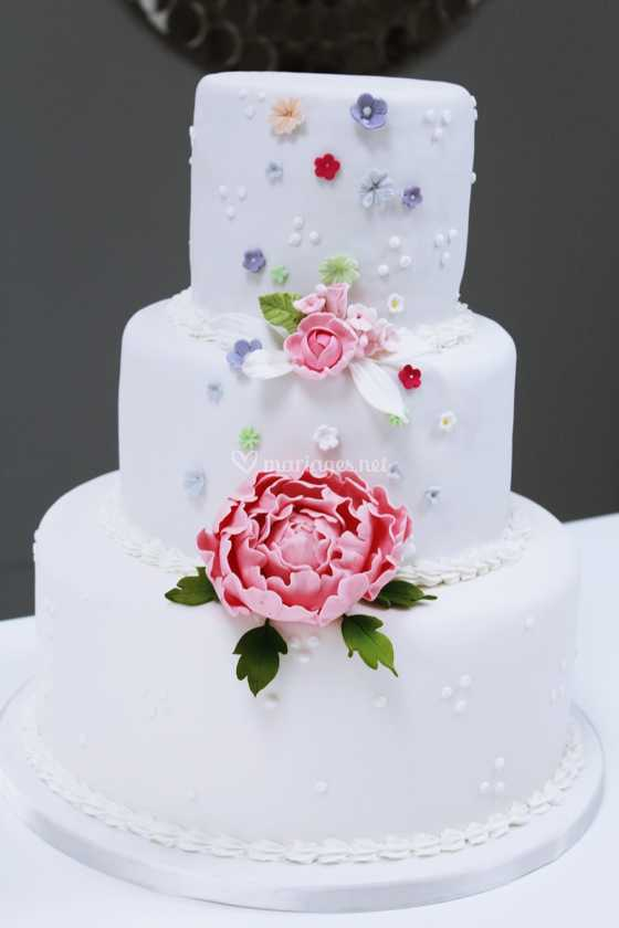 Beautiful Wedding Cake De Cake Design Photo 27