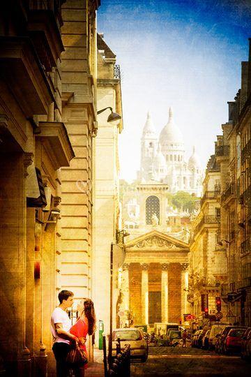 Dans Paris Love par G.Motsch P