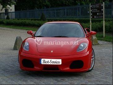 Location Ferrari