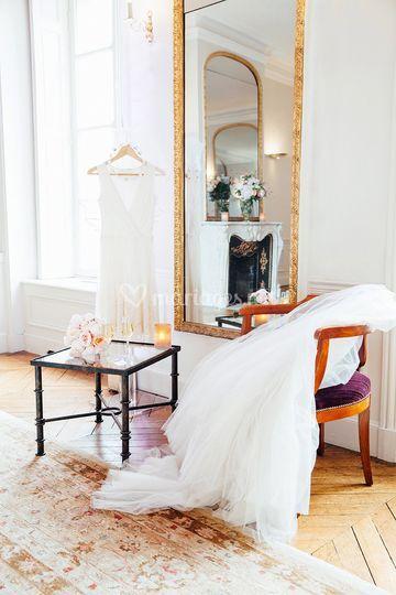 Boudoir de la mariée de La Maison des Polytechniciens | Photo 3
