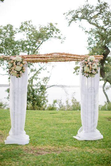 Arche fleurs et bois