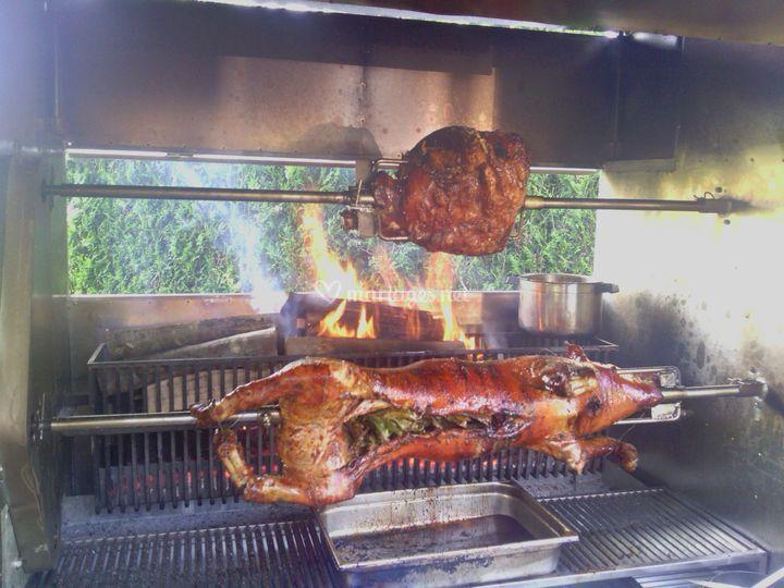 Cochon et jambon