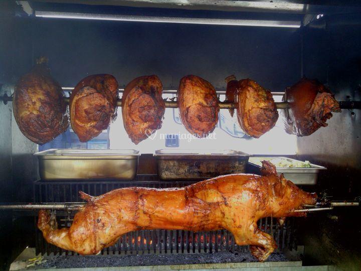 Cochon et jambons (250 pers)