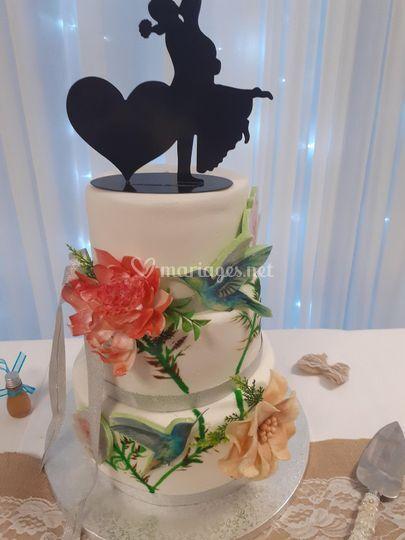 Cake des maries